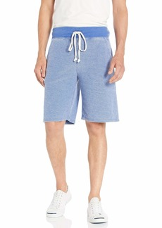 Alternative Apparel Alternative Men's Victory loopside Burnout French Terry Shorts  S