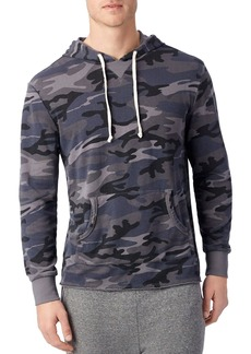 Alternative Apparel ALTERNATIVE School Yard Camouflage Hooded Sweatshirt