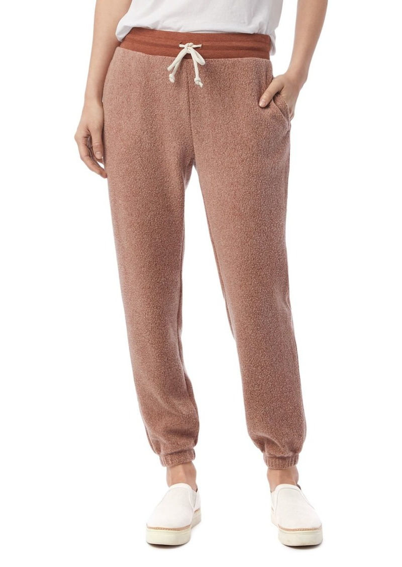 ALTERNATIVE Teddy Classic Sweatpants