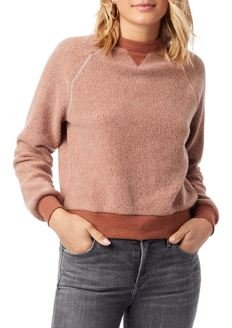 ALTERNATIVE Teddy Textured Sweatshirt