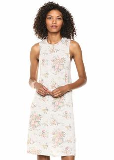 Alternative Apparel Alternative Women's a-line eco-Jersey Printed Tank Dress Light Grey Country Floral