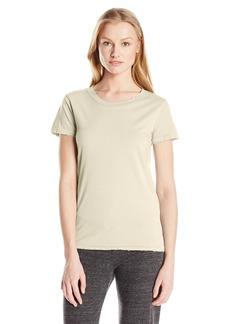 659a0cec4 Alternative Apparel Alternative Women's Distressed Vintage Short-Sleeve T- Shirt White