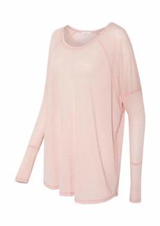 Alternative Apparel Alternative Women's Eco Gauze Ramble Long Sleeve Raglan Tunic Shirt  ML