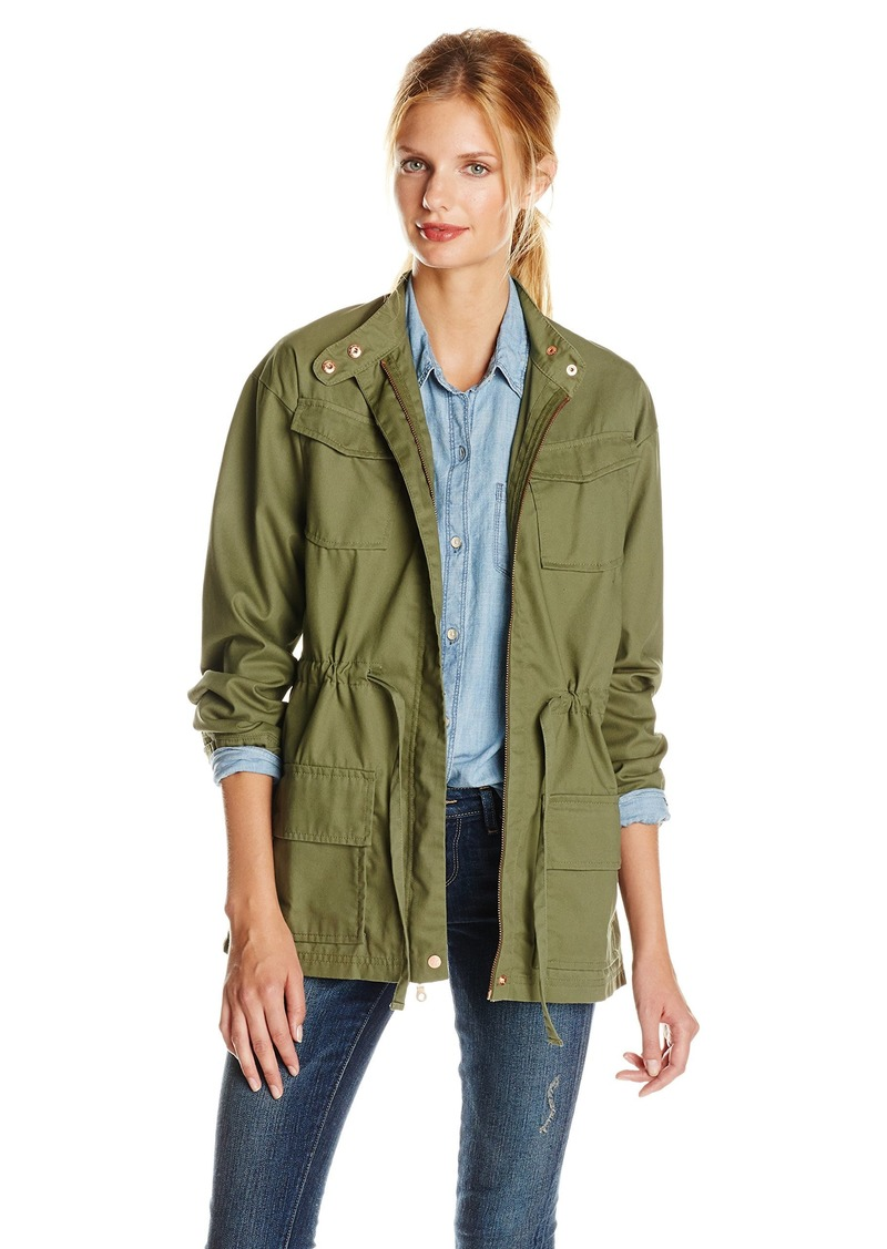 Alternative Apparel Alternative Women's Herringbone Military Jacket