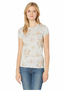 Alternative Apparel Alternative Women's Ideal Printed eco-Jersey t-Shirt Light Grey Country Floral