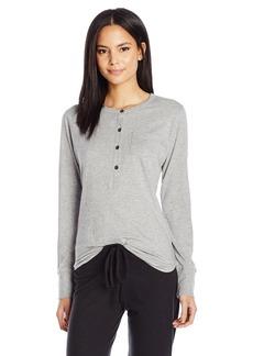 Alternative Apparel Alternative Women's Organic Pima Button Up Henley Shirt  Large