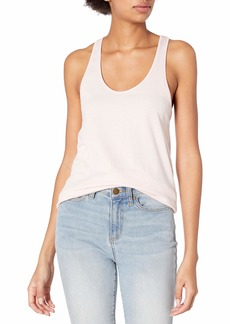 Alternative Apparel Alternative Women's Satin Jersey Shirttail Tank Top