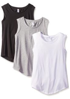 Alternative Apparel Alternative Women's The 3 Luxe Crew Cap Sleeve Shirt Set  L