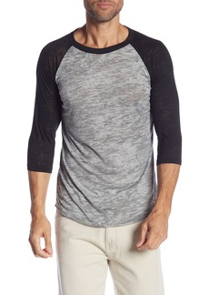 Alternative Apparel Big League Burnout Baseball T-Shirt