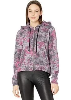 Alternative Apparel Chelsea Printed Eco Fleece Full Zip Hoodie