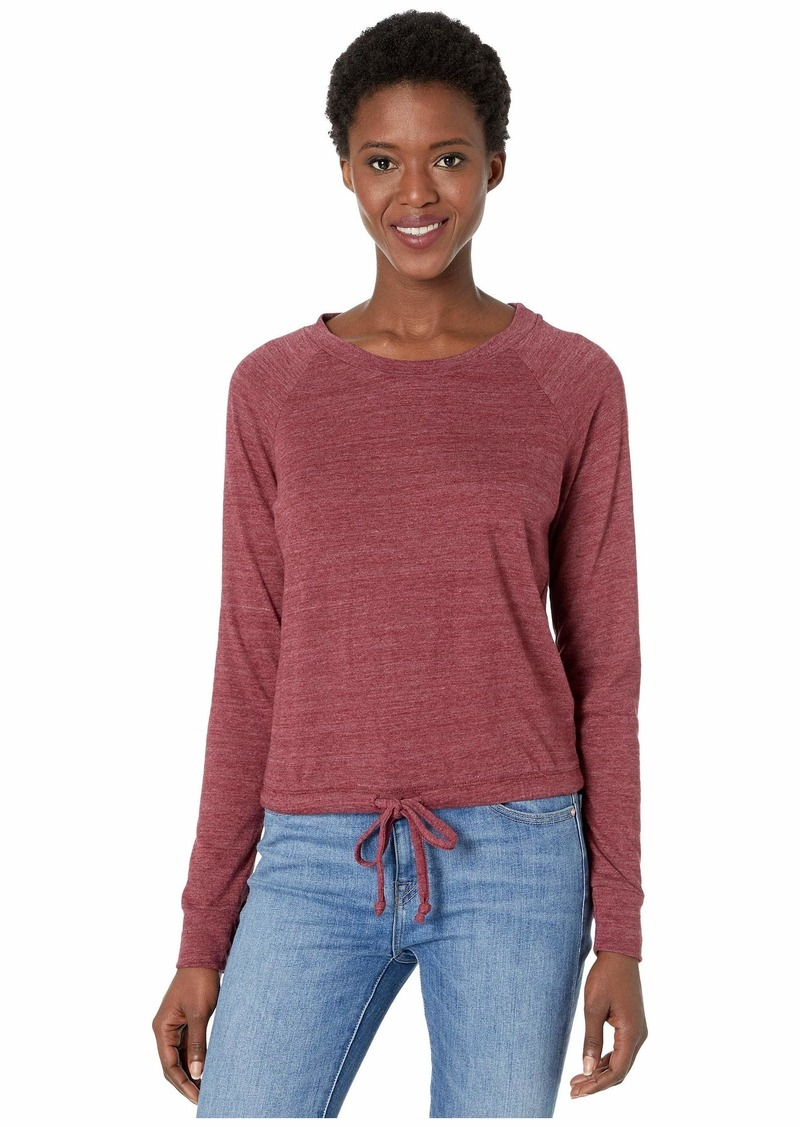 Alternative Apparel Cinched Waist Slouchy Sweatshirt