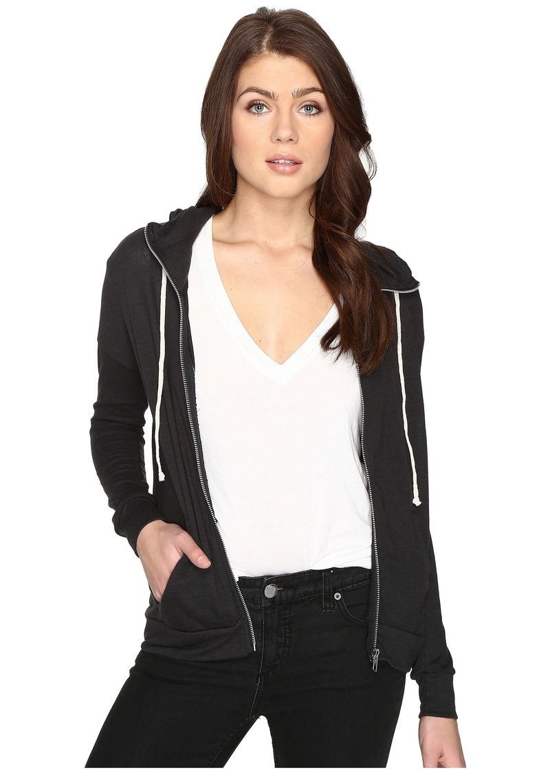 Alternative Apparel Eco Jersey Cool Down Zip Hoodie