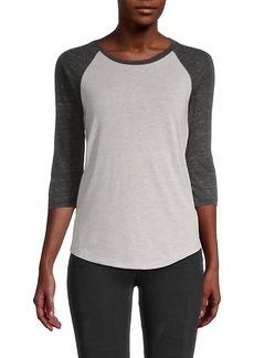 Alternative Apparel Eco Jersey Raglan-Sleeve Baseball T-Shirt