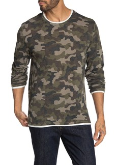 Alternative Apparel Eco Layered Print Long Sleeve T-Shirt