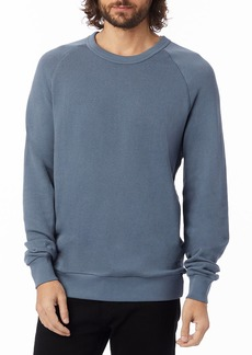 Alternative Apparel Men's Alternative Champ Washed Terry Sweatshirt