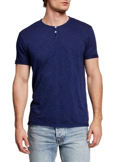 Alternative Apparel Men's Home Team Henley T-Shirt