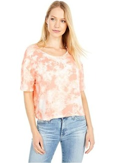 Alternative Apparel Relaxed Tie-Dyed Flowed Crop Top