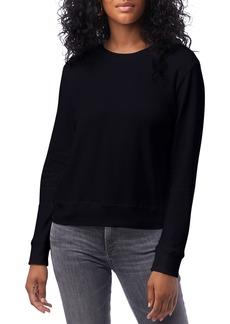 Alternative Apparel Women's Alternative Cotton Blend Interlock Sweatshirt