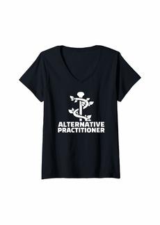 Alternative Apparel Womens Alternative practitioner V-Neck T-Shirt