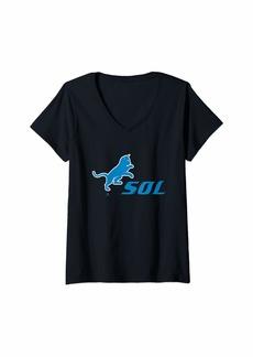 Alternative Apparel Womens SOL  V-Neck T-Shirt