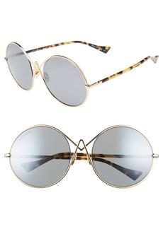 Altuzarra 60mm Round Sunglasses