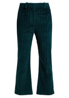 Altuzarra Adler cropped corduroy trousers