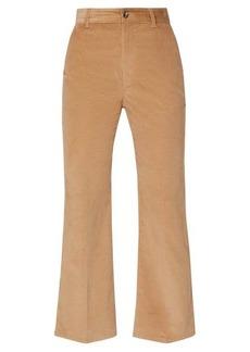 Altuzarra Adler stretch-cotton corduroy kick-flare trousers