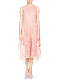 Altuzarra Alana Sleeveless High-Neck Lace Cocktail Dress