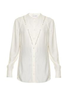 Altuzarra Amanda faux-pearl embellished blouse