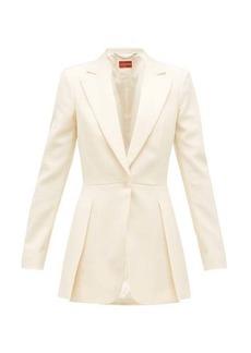 Altuzarra Barnhart single-breasted wool-blend jacket