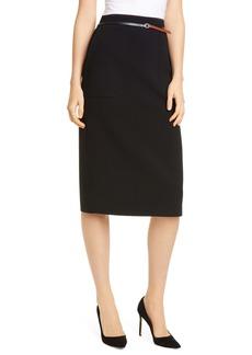Altuzarra Belted Pencil Skirt