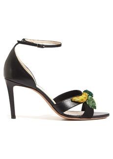 Altuzarra Bisbee fruit-embellished leather sandals