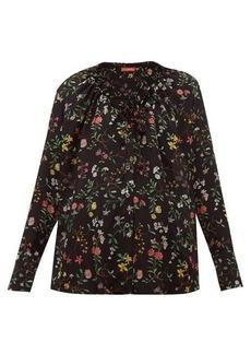 Altuzarra Bowie floral-print silk blouse