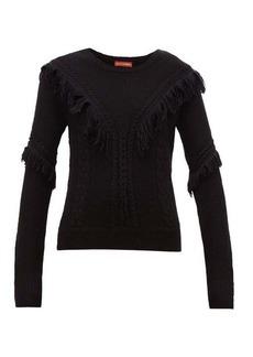 Altuzarra Buckeye fringe-trim sweater