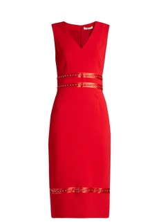 Altuzarra Burke stud-embellished crepe dress