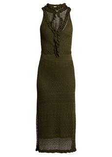 Altuzarra Butterfield pointelle-knit dress