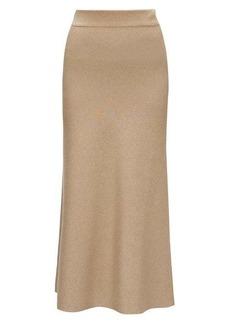 Altuzarra Callaway rib-knitted midi skirt