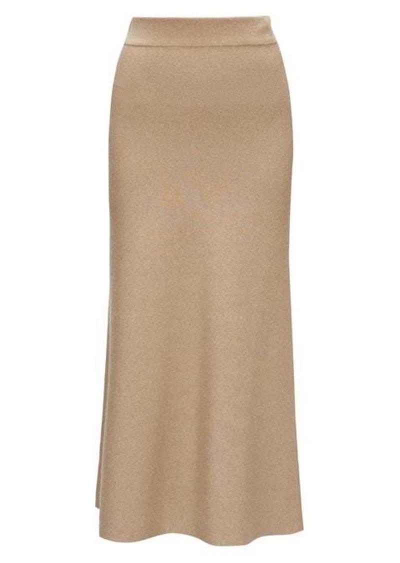 Altuzarra Callaway ribbed-knit fluted midi skirt
