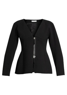 Altuzarra Campion zip-up collarless jacket