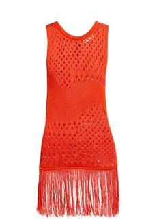 Altuzarra Carmela crochet cotton-blend top