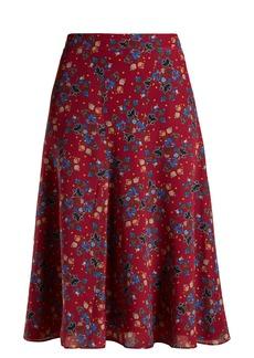 Altuzarra Caroline floral-print skirt