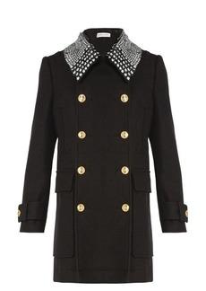 Altuzarra Charles detachable-collar double-breasted coat