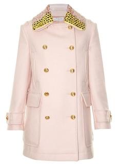 Altuzarra Charles detachable-collar wool-blend coat