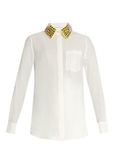Altuzarra Chica detachable-collar long-sleeved shirt