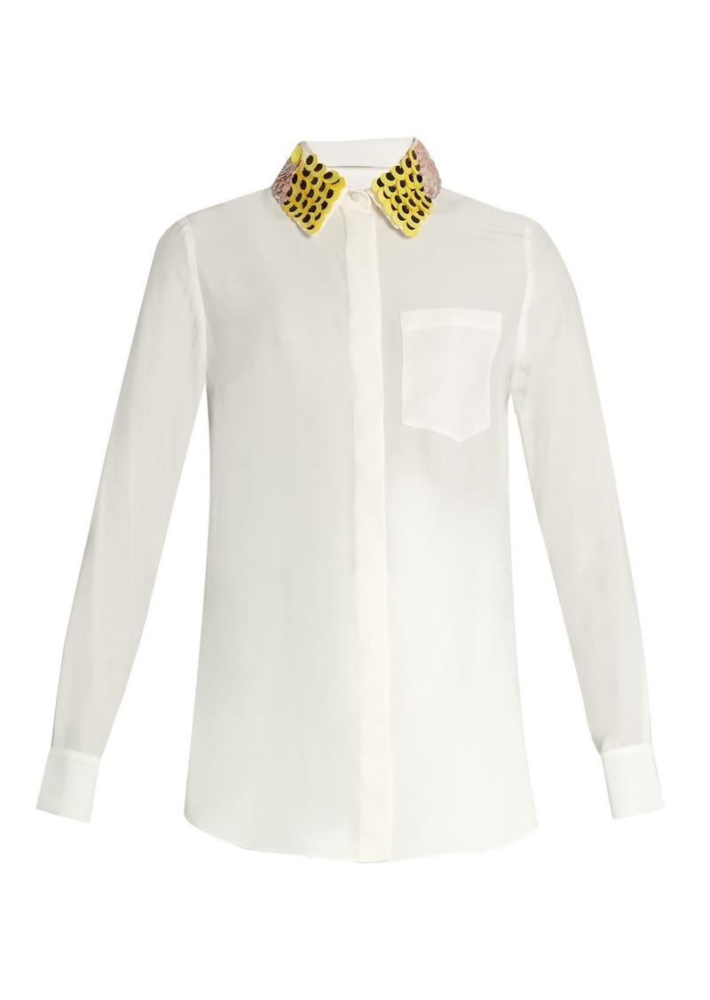 Altuzarra Altuzarra Chica Detachable Collar Long Sleeved Shirt
