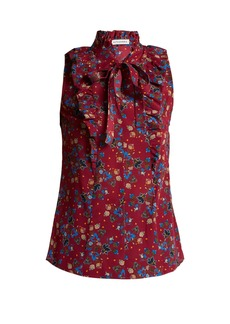 Altuzarra Choukri floral-print top