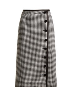 Altuzarra Christofor hound's-tooth wool pencil skirt
