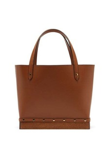 Altuzarra Clog small studded leather tote bag