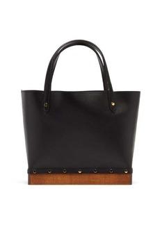 Altuzarra Clog small studded leather tote bag