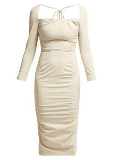 Altuzarra Colonia stretch-twill dress